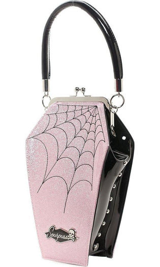 Coffin Sparkle [Pink] | PURSE