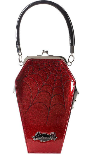 Coffin Sparkle [Red] | PURSE