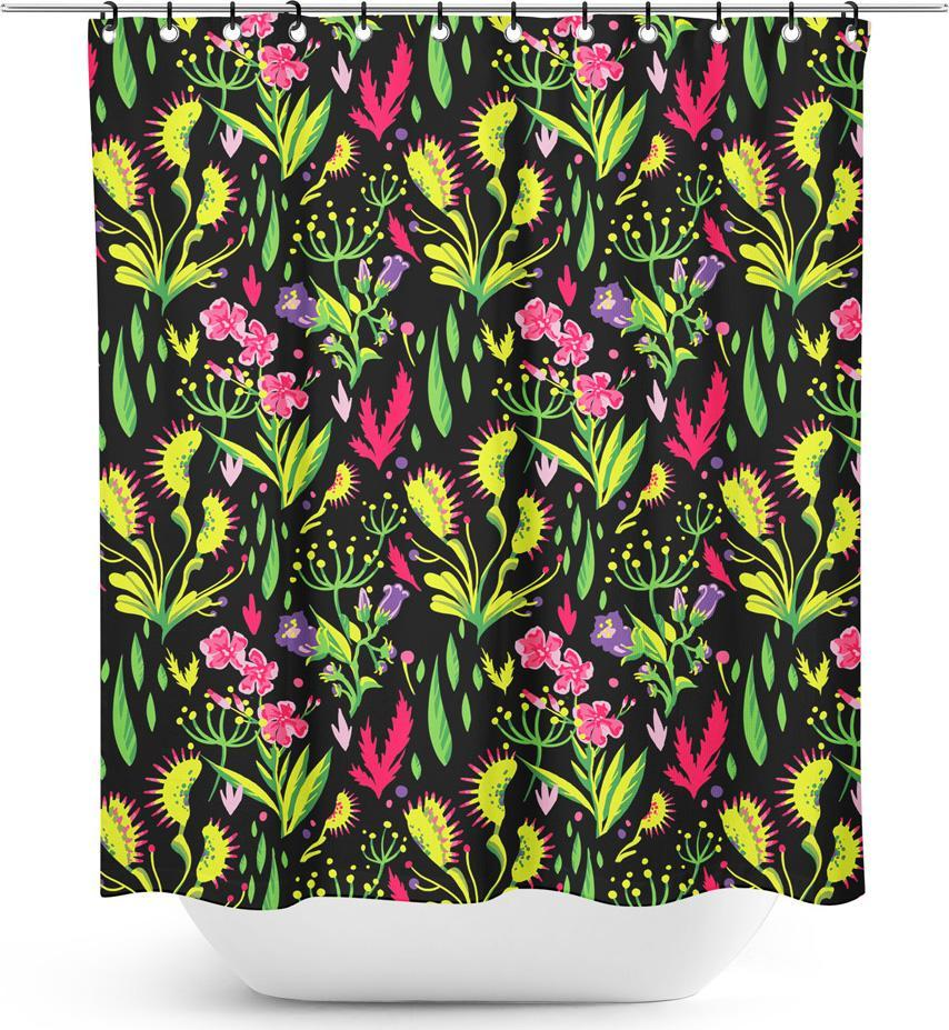 Deadly Beauties | SHOWER CURTAIN