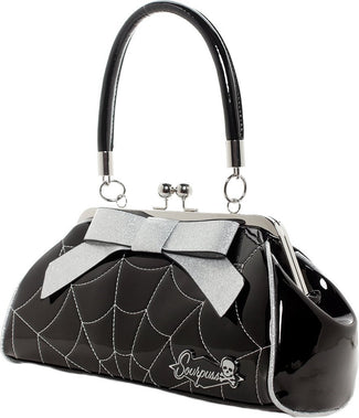 Floozy Web [Black/Silver] | PURSE