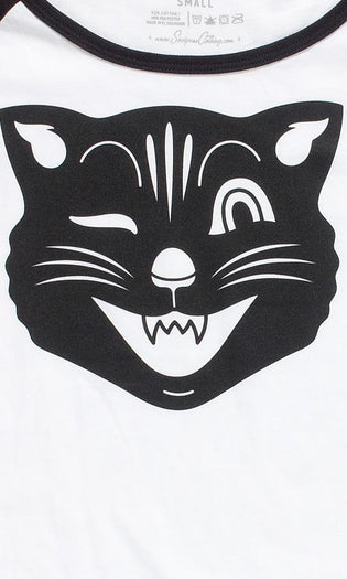 Jinx The Cat | RAGLAN TEE