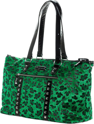 Leopard Leda [Green] | TRAVEL BAG