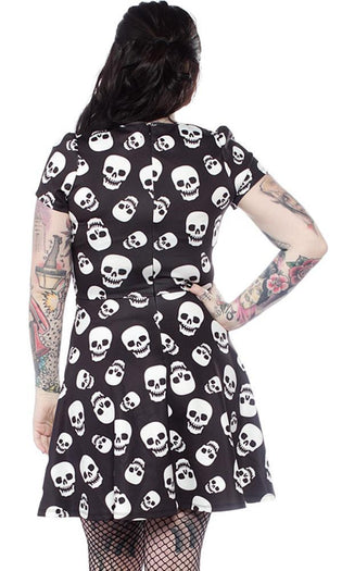 Lust For Skulls Scuba | DRESS