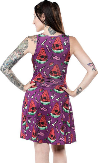 Melon Head | SKATER DRESS