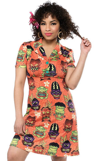 Monster Tiki | Rosie DRESS