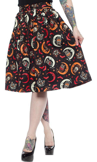 Over The Moon | SWING SKIRT