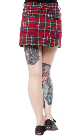 Plaid Five Pocket | MINI SKIRT