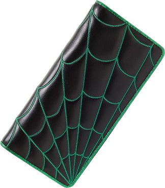 Spider Web [Black-Green] | WALLET