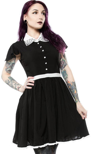 Spiderweb Lydia [Black] | DRESS