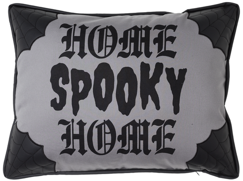 Spooky Home Canvas | PILLOW
