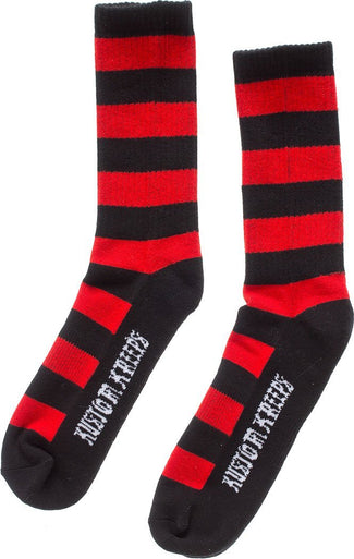 Striped [Black/Red] | SOCKS