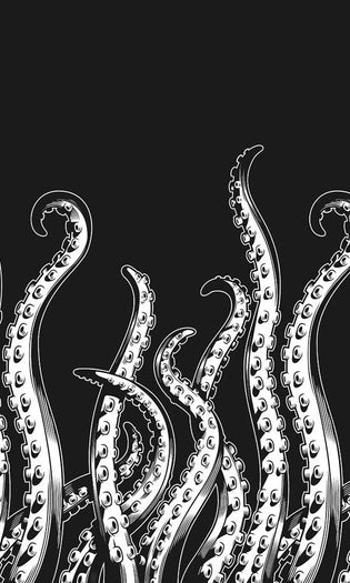 Tentacles | SHOWER CURTAIN
