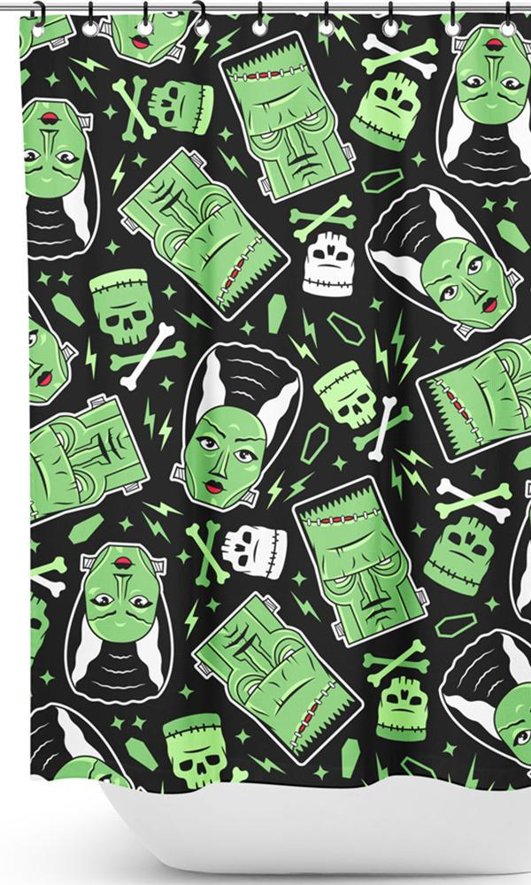 The Monsters | SHOWER CURTAIN