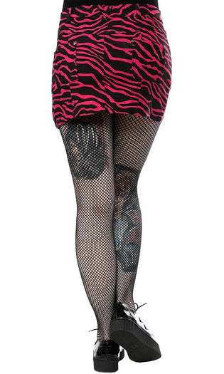 Zebra [Hot Pink] | MINI SKIRT