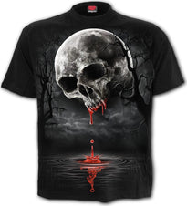 Death Moon Front Print | T-SHIRT
