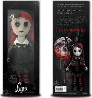 Luna The Goth Rag Doll | PLUSH DOLL