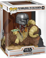 Star Wars | The Mandalorian & The Child on Bantha Deluxe POP! VINYL