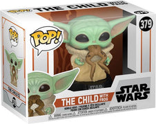 Star Wars: Mandalorian | The Child With Frog POP! VINYL