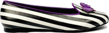 Bat Striped [Purple] | LYDIA FLATS*