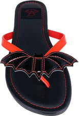 Bat [Red/Black] | BETTY SANDALS
