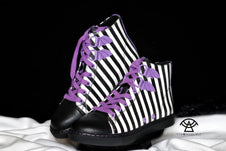 Deetz [Purple Stripe] | CHELSEA SNEAKERS