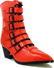 Coven [Red Patent] | BOOTS