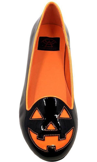 Lydia Jackolantern [Black/Orange] | FLATS