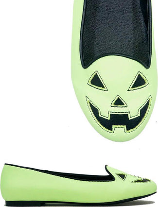 Lydia Jack O Lantern [Green] Glow In The Dark | FLATS
