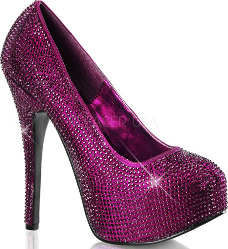 TEEZE-06R Purple Satin RS