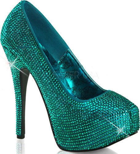TEEZE-06R Turquoise Satin RS