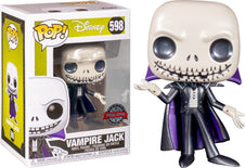 The Nightmare Before Christmas | Jack Vampire MT Metallic POP! VINYL