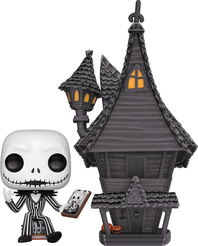 The Nightmare Before Christmas | Jack With Jack's House POP! VINYL*