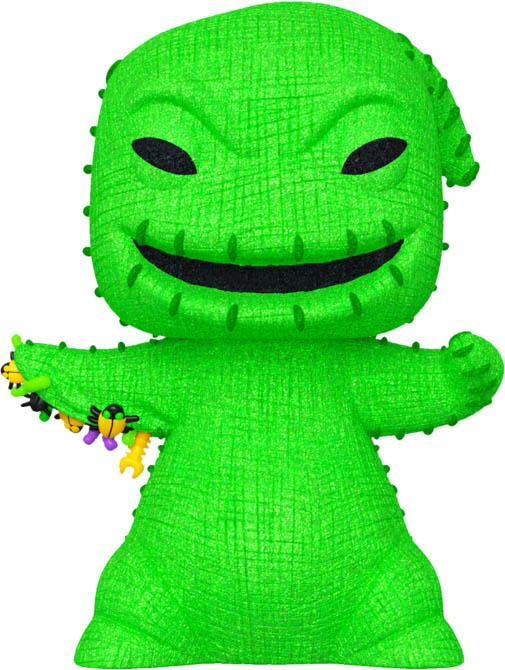 The Nightmare Before Christmas | Oogie Boogie Green [Diamond Glitter] POP! VINYL [RS]