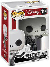 The Nightmare Before Christmas - Jack Skellington with Snowflake (Box)