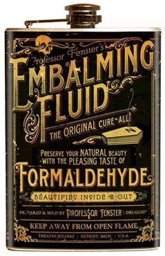 Theater Bizarre Embalming Fluid | FLASK