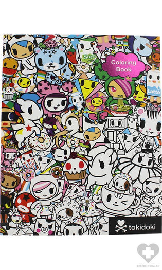 Tokidoki | COLOURING BOOK