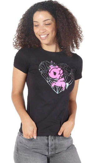 Crystalized [Black] | TEE