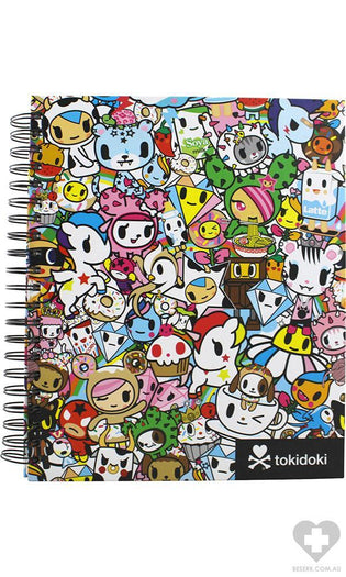 Tokidoki | SKETCHBOOK WITH SPIRAL