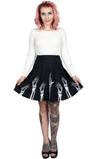 Hands Up | SKATER SKIRT