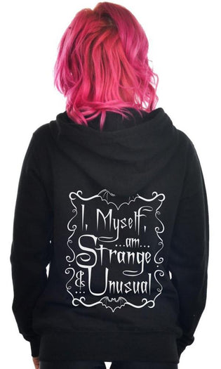 I, Myself, Am Strange And Unusual | ZIP HOODIE