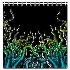 Pirate Flesh Octopus Tentacles | SHOWER CURTAIN