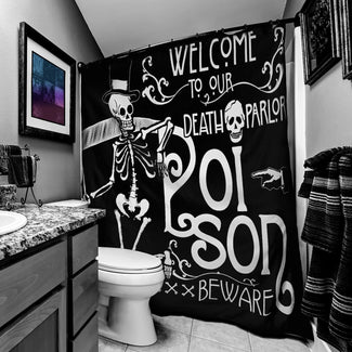 Poison Death Parlor | SHOWER CURTAIN
