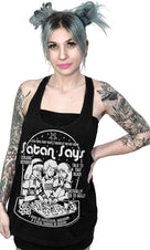Satan Says 70's Ouija Game Ad Slouchy | MUSCLE TANK