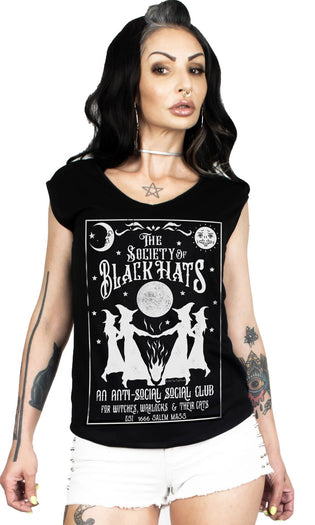 Society Of Black Hats | T-SHIRT