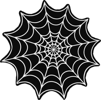 Spiderweb Get Goth Web Shaped | TOWEL