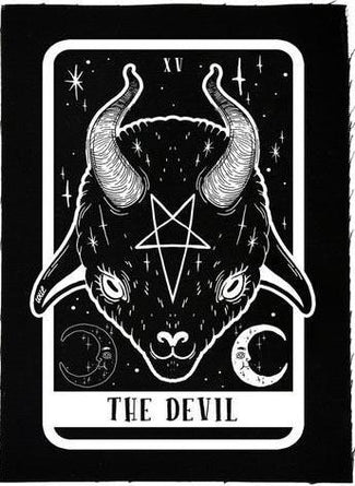 The Devil Tarot Baby Goat | PATCH