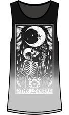 The Lovers Tarot [Dip-Dye] | TANK TOP