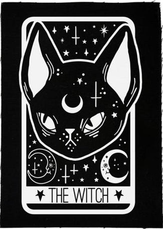 The Witch Black Cat Tarot Card | PATCH