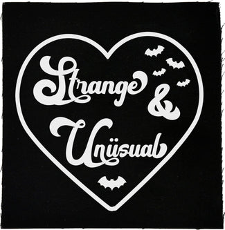 We Heart The Strange & Unusual | Cloth PATCH