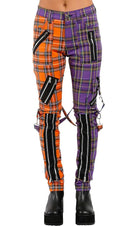 Madness [Orange/Violet] | BONDAGE PANTS